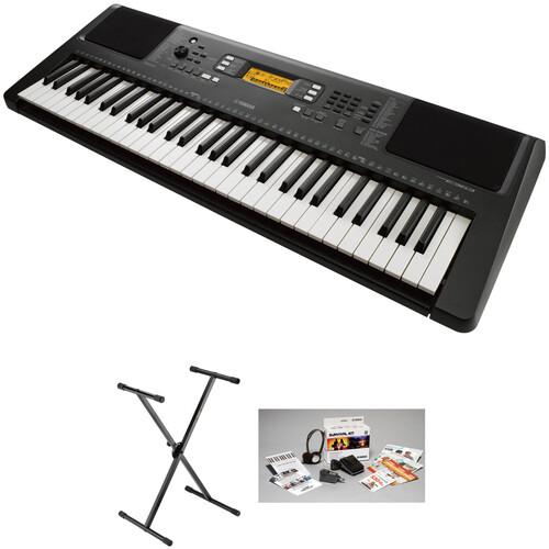 Yamaha PSR-E363 61-Key Portable Keyboard Essential Bundle
