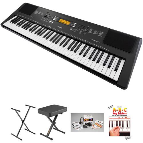 Yamaha PSR-EW300 76-Key Portable Keyboard Essential Kit