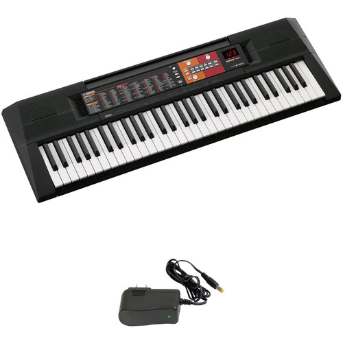Yamaha PSR-F51 61-Key, Entry-Level Keyboard Kit with Power Adapter
