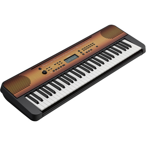 Yamaha PSR-E360MA Portable Keyboard (Mahogany Wood)