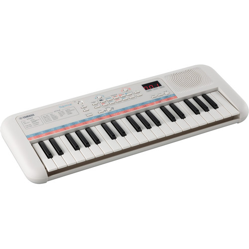 Yamaha PSS-E30 Remie 37-Mini-Key Portable Keyboard (White)