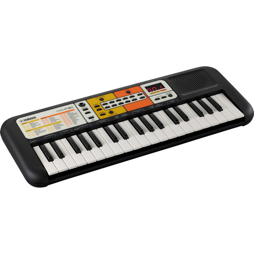 Yamaha PSS-F30 37-Mini-Key Portable Keyboard (Black/Orange)