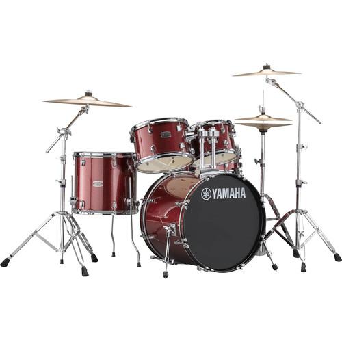Yamaha RDP0F5 Rydeen Drum Kit (Burgundy Glitter)