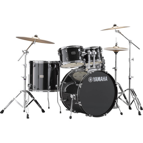 Yamaha RDP2F5 Rydeen Drum Kit (Black Glitter)
