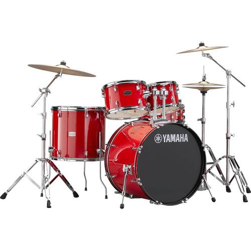 Yamaha RDP2F5 Rydeen Drum Kit (Hot Red)