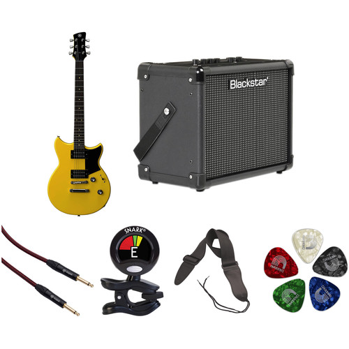 Yamaha Revstar RS320 Electric Guitar Starter Kit (Stock Yellow)