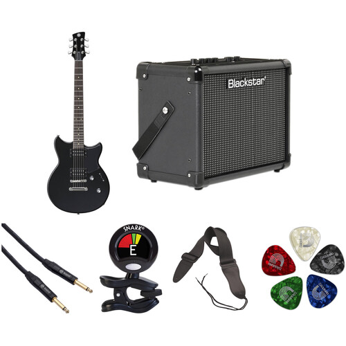 Yamaha Revstar RS320 Electric Guitar Starter Kit (Black Steel)