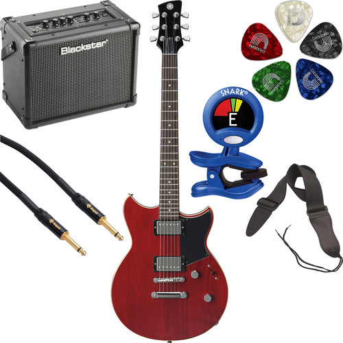 Yamaha Revstar RS420 Electric Guitar Starter Kit (Fired Red)