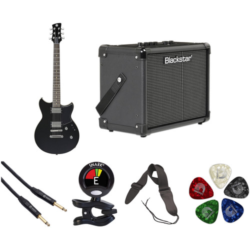 Yamaha Revstar RS420 Electric Guitar Starter Kit (Black Steel)