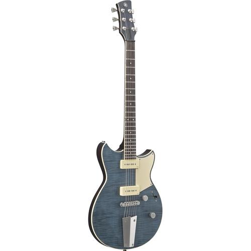 Yamaha RS502 Revstar Electric Guitar with Gig Bag (Flamed Maple/Vintage Japanese Denim)