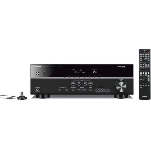 Yamaha RX-V375BL 5.1-Channel AV Receiver