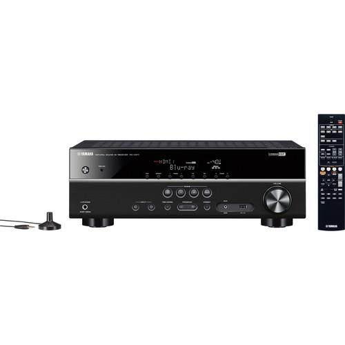 Yamaha RX-V377BL 5.1 Channel AV Receiver