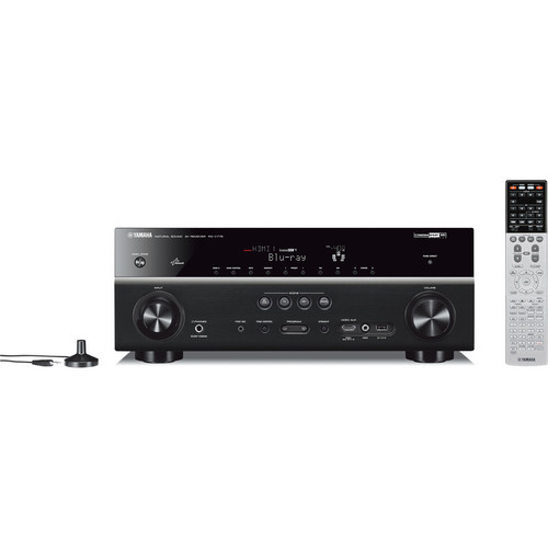 Yamaha RX-V775WABL 7.2-Channel Network AV Receiver with Wi-Fi Adapter