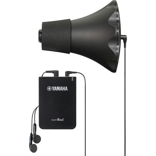 Yamaha Silent Brass Pickup Mute with STX Personal Studio for Flugelhorn