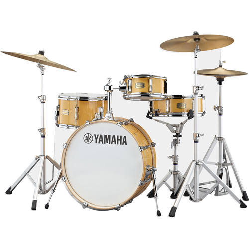 Yamaha Stage Custom Hip 4-Piece Shell Pack (Natural Wood)