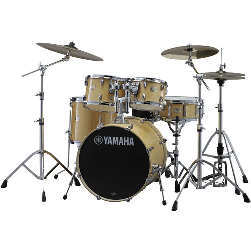 Yamaha SBP0F56WNW Stage Custom Birch Shell Package (Natural Wood)