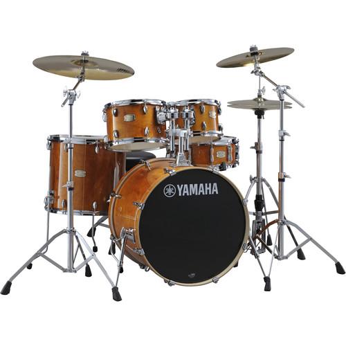 Yamaha SBP0F57HA Stage Custom Birch Shell Package (Honey Amber)