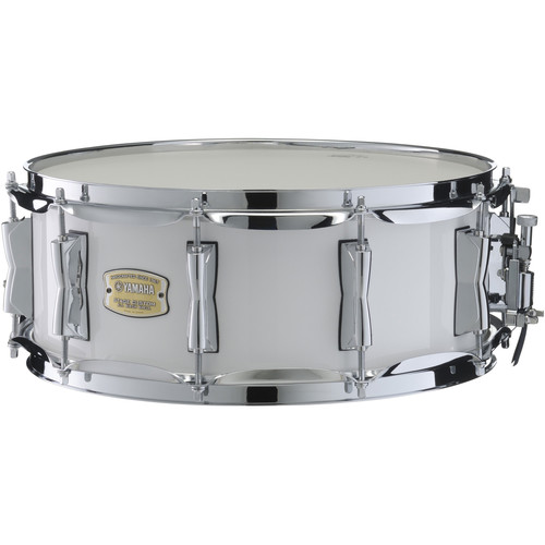 Yamaha SBS1455PW Stage Custom Birch Snare (Pure White)