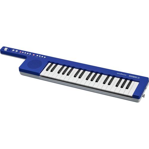 Yamaha Sonogenic SHS-300 Mini Keytar Instrument and Keyboard Controller (Blue)