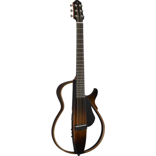 Yamaha SLG200S Steel-String Silent Guitar (Tobacco Brown Sunburst)