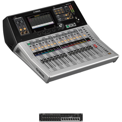 Yamaha TF1 Digital Mixing Console and Dante-Equipped I/O Rack Kit