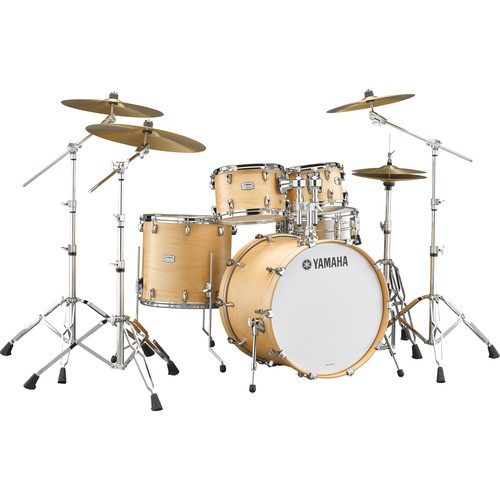"Yamaha TMP2F4 Tour Maple Custom 4-Piece Shell Package (22"" Bass Drum, Butterscotch Satin)"