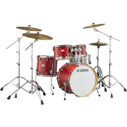 "Yamaha TMP2F4 Tour Maple Custom 4-Piece Shell Package (22"" Bass Drum, Candy Apple Satin)"