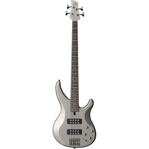Yamaha TRBX304 4-String Electric Bass (Pewter)