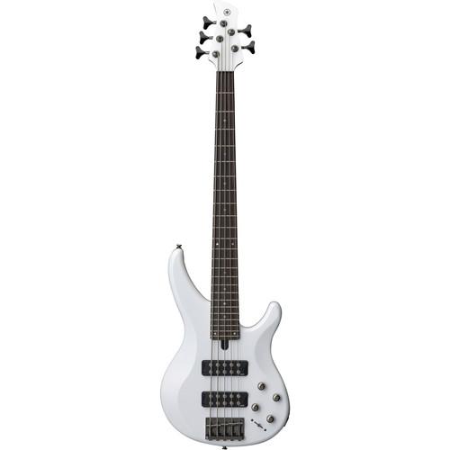 Yamaha TRBX305 5-String Electric Bass Starter Kit (White)