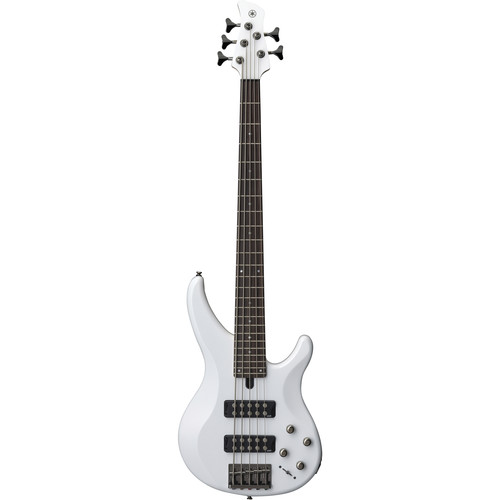 Yamaha TRBX305 300-Series 5-String Electric Bass (White)