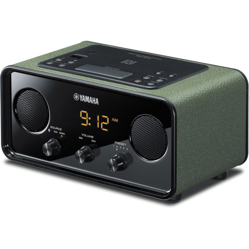 Yamaha TSX-B72 Desktop Audio System (Dark Green)