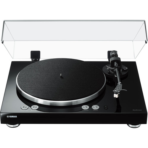 Yamaha MusicCast VINYL 500 Wireless Two-Speed Stereo Turntable (Piano Black)