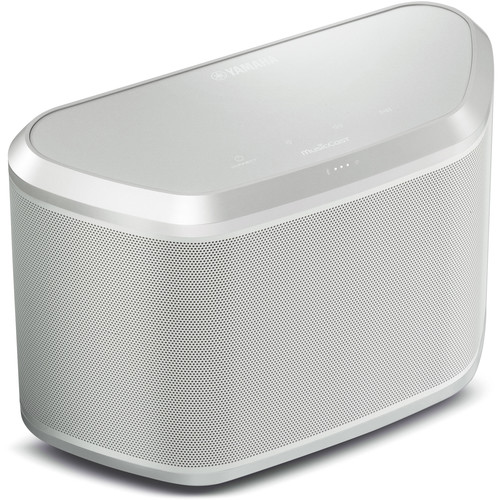 Yamaha WX-030 MusicCast Wireless Speaker (White/Silver)