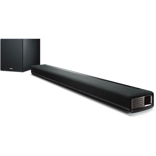 Yamaha MusicCast YAS-706 Virtual Surround Soundbar System (Black)