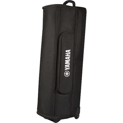 Yamaha Soft Rolling Carry Case for STAGEPAS 400i Portable PA System or 2 MSR100 Powered Speakers (Black)