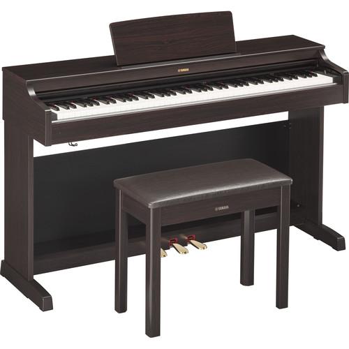 Yamaha Arius YDP-163R Digital Piano with Bench (Dark Rosewood)