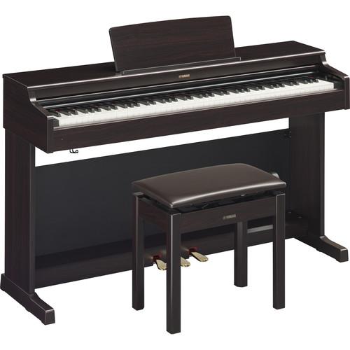 Yamaha Arius YDP-164 88-Key Digital Console Piano with Bench (Dark Rosewood)