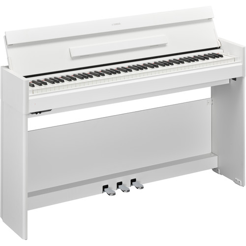 yamaha arius ydp s54 88 key digital console piano ydps54wh b h. Black Bedroom Furniture Sets. Home Design Ideas
