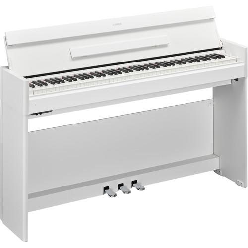 Yamaha Arius YDP-S54 88-Key Digital Console Piano (White Walnut)