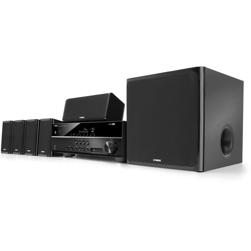 Yamaha YHT-4920UBL 5.1-Channel Home Theater in a Box System