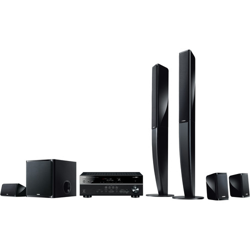 Yamaha YHT-699UBL 5.1-Channel Network AV Home Theater in a Box
