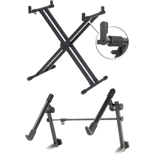 Yamaha YKA7500 Keyboard Stand with 2nd Tier Package