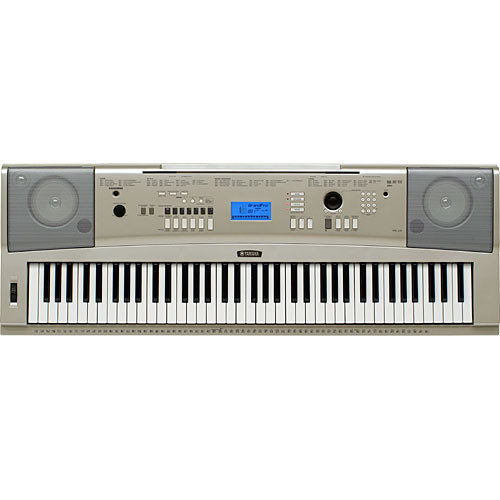 Yamaha YPG-235 76-Key Portable Grand Keyboard Kit with Stand and Power Adapter