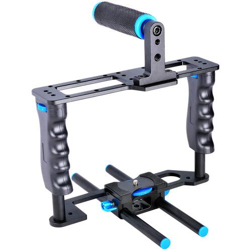 YELANGU Alum Alloy DSLR Camera Cage Stabilizer