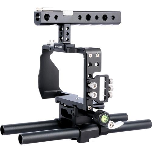 YELANGU C6 Camera Cage for Sony a6500/a6300