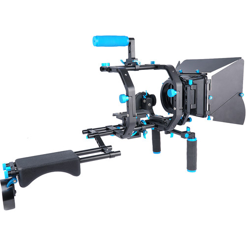 YELANGU D201 Pro Shloulder Aluminum Camera Support DSLR Rig