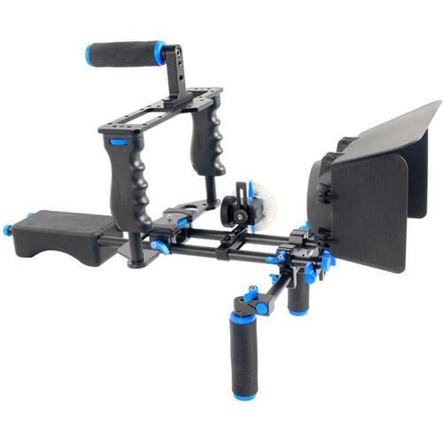YELANGU DSLR Camera Cage Shoulder Mount Kit