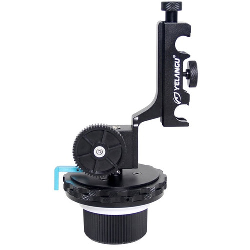 YELANGU F4 Follow Focus Unit with Hard Stops and Quick Release