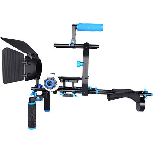 YELANGU D206 Shoulder Rig for DSLR and DV Cameras