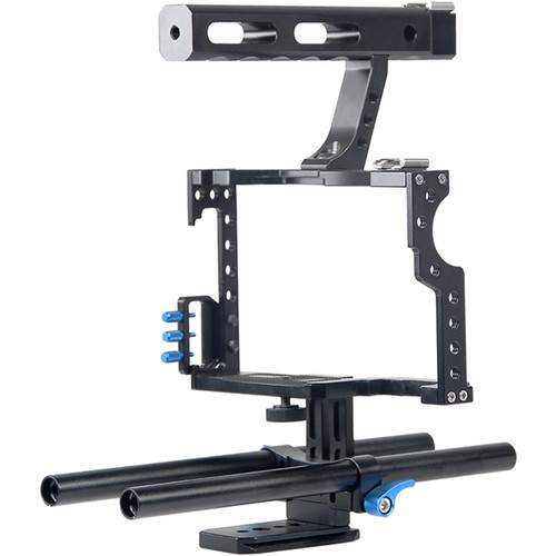 YELANGU C5 Cage for GH4, a7 Series, and a6500/a6300/a6000 Cameras